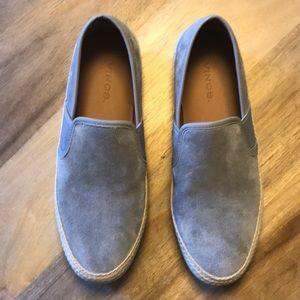 Vince Preston Slip-On Suede Sneaker Unisex W9 M7